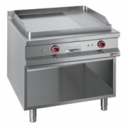 Plaatgrill Diamond sile/ribi plaat